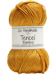 Włóczka Tencel Bamboo Double 17717 curry