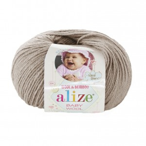 Alize Baby Wool 167 beżowy
