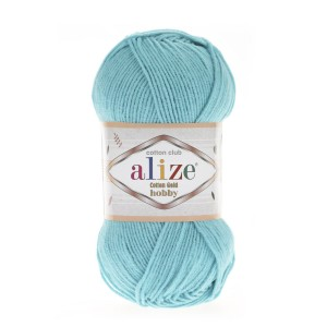 Alize Cotton Gold Hobby 287 turkus