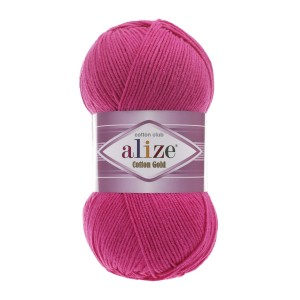 Alize Cotton Gold 149 fuksja