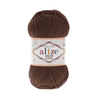 Alize Cotton Gold Hobby 493 brązowy