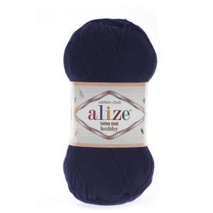 Alize Cotton Gold Hobby 58 granatowy