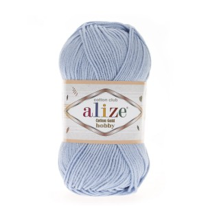 Alize Cotton Gold Hobby 40 błękitny