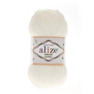 Alize Cotton Gold Hobby 62 ecru