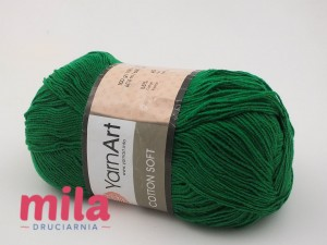 Yarn Art Cotton Soft 52 zielony
