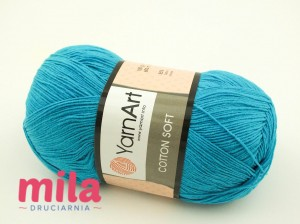 Yarn Art Cotton Soft 55 ciemny turkus