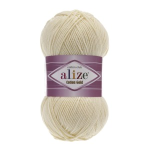Alize Cotton Gold 01 kremowy