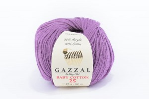 Gazzal Baby Cotton 25 (mini) 3414 wrzos