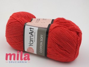 Yarn Art Cotton Soft 26 czerwony
