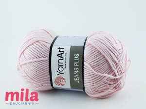 Jeans Plus Yarn Art 18 blady róż