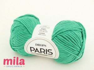 DROPS Paris 11 zielony opal