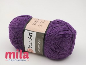 Yarn Art Cotton Soft 50 fiolet